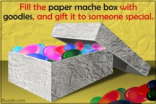 How to Make Paper Mache Boxes with Lids