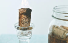 How to Make Wine Cork Candles