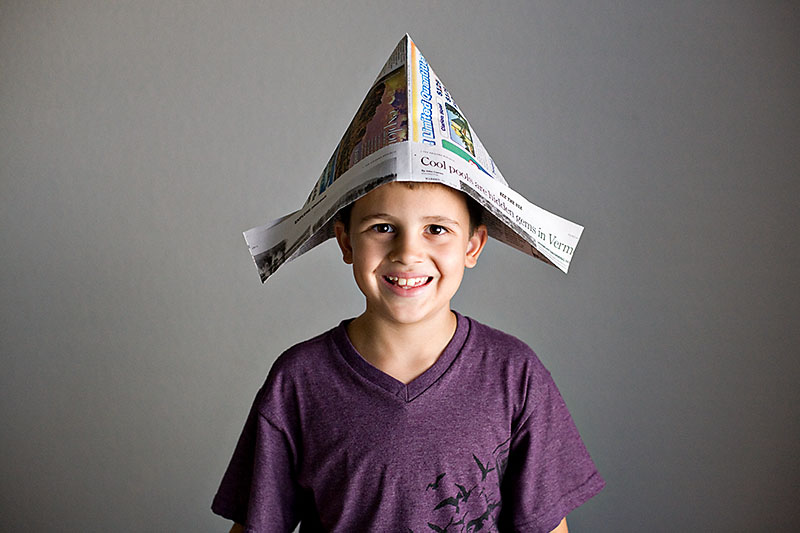 How To Make A Hat Out Of Newspaper