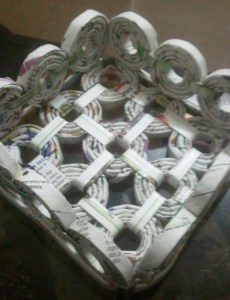 Make Your Own DIY Newspaper Basket