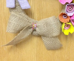 Making a Simple Burlap Bow