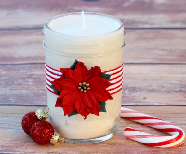 42 amazing diy mason jar candles and holders for Christmas candle gift ideas