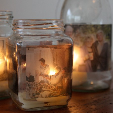 Mason Jar Candle Pictures DIy