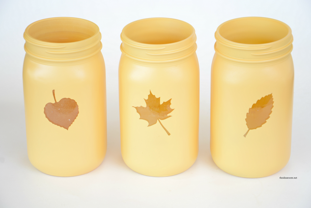 Mason Jar Painting Ideas for Fall