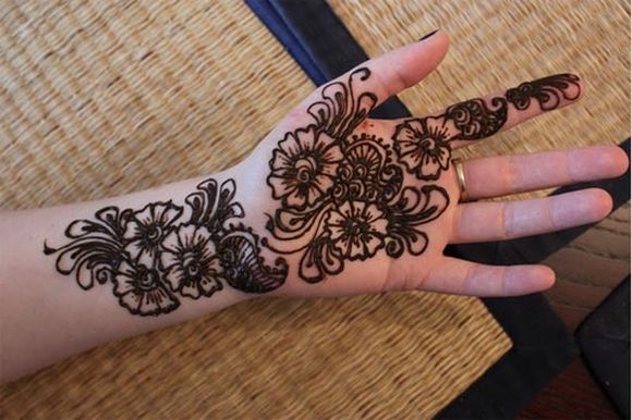 Mehendi Design Images for Kids