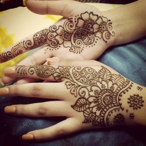 Mehndi Design for Kids Pictures