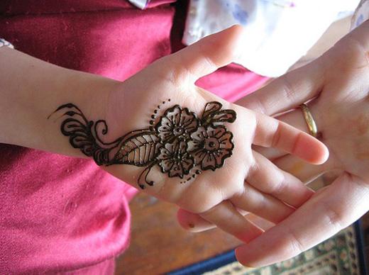 Mehndi Designs Baby Hand