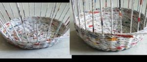 Newspaper Basket Method