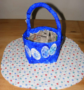 Newspaper Basket Tutorials with Pics
