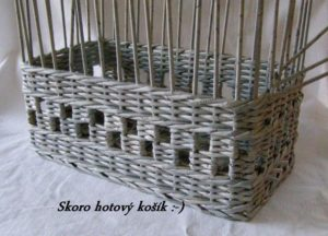 Newspaper Basket Weaving Instructions