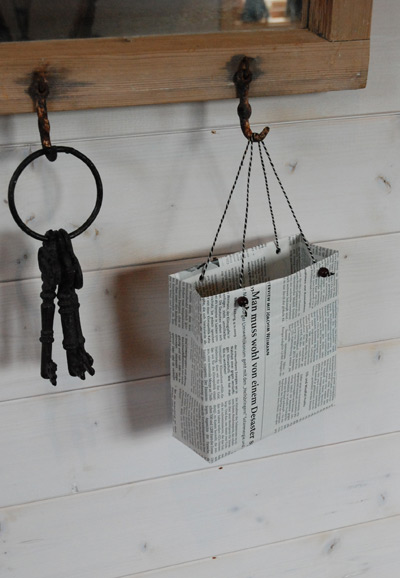 Newspaper Gift Bags Ideas