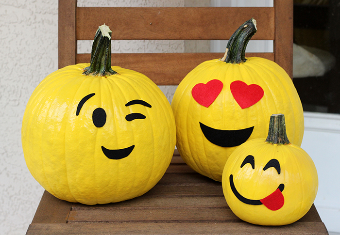 No carve halloween pumpkin decorating ideas