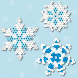 Perler Bead Snowflake Patterns