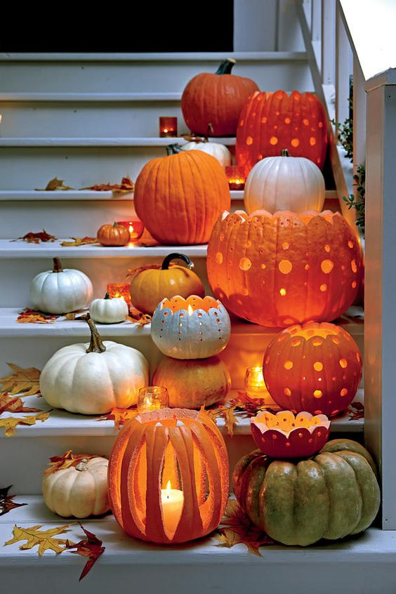 Pumpkin Halloween Designs for this Fall