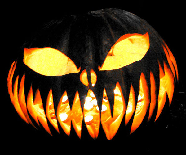 Scary Halloween Pumpkin Designs