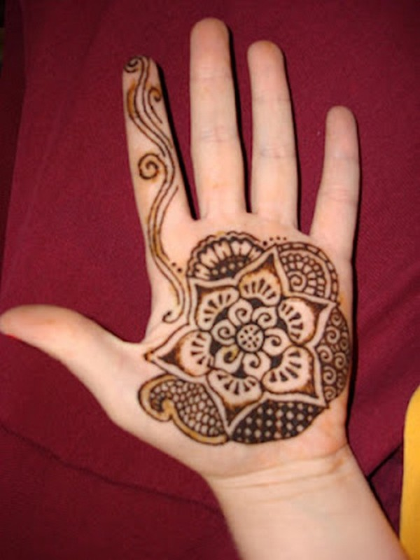 Mehndi Bracelet Design For Kids : Easy simple mehndi designs for kids
