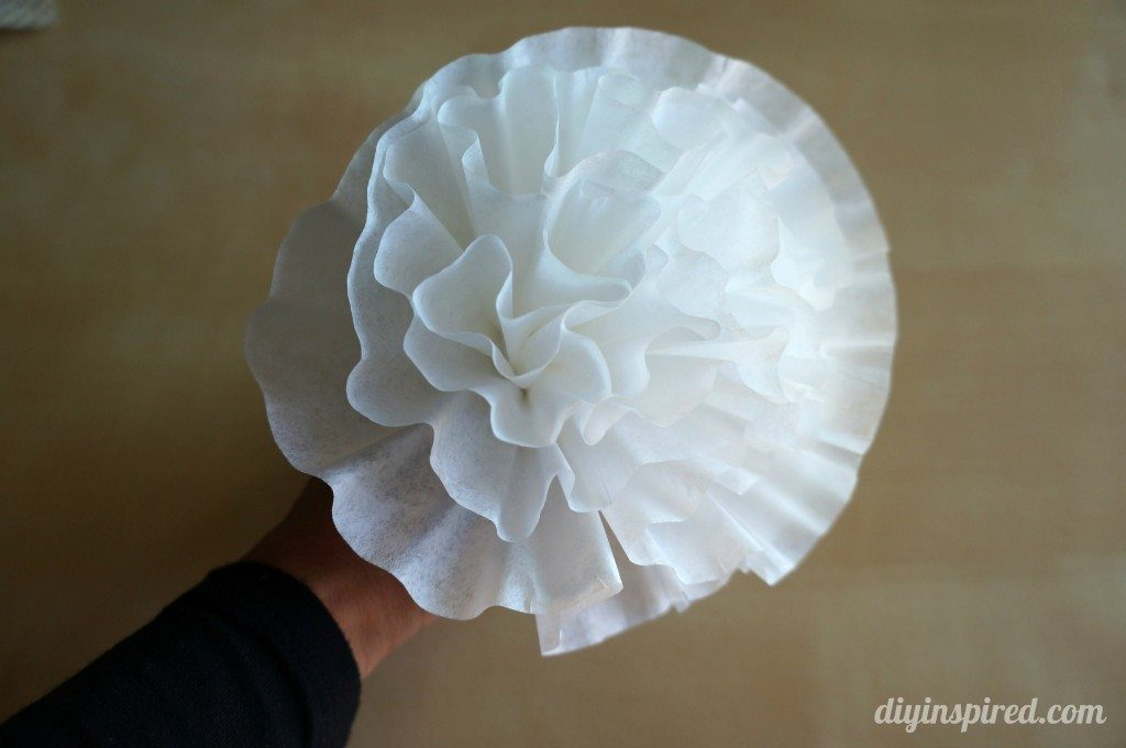 Small Coffee Filter Flowers DIY