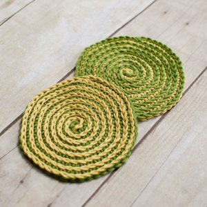 Spiral Coaster Crochet Pattern