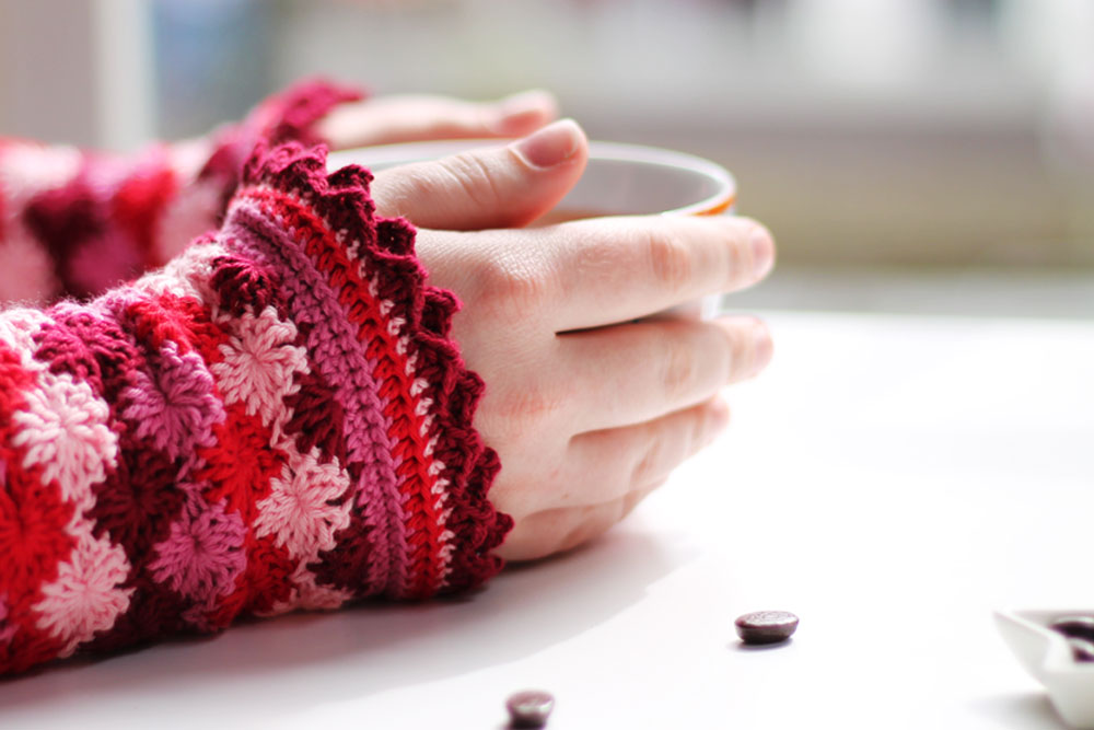31 Easy Crochet Fingerless Gloves Patterns Tutorials