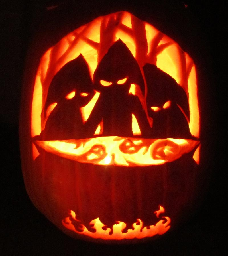 55 Top Unique Halloween Pumpkin Designs Ideas