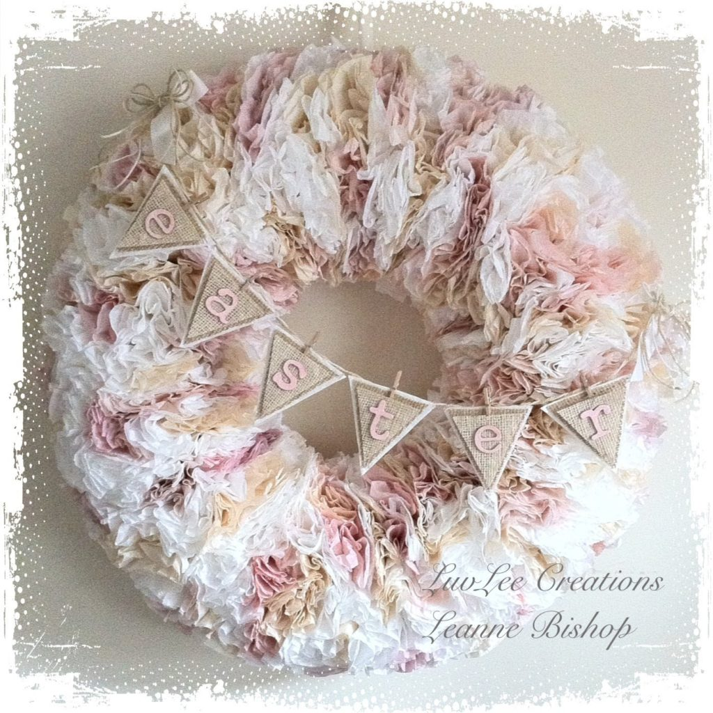 Youtube Coffee Filter Wreaths