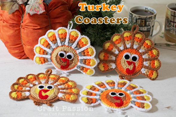 thanksgiving crochet coaster patterns