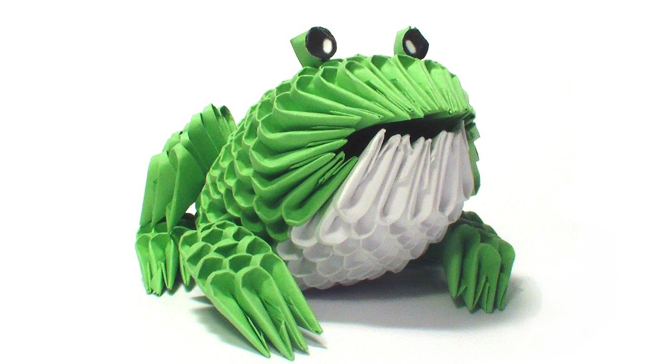 Easy origami frog instructions tutorials jeuxipadfo Image collections
