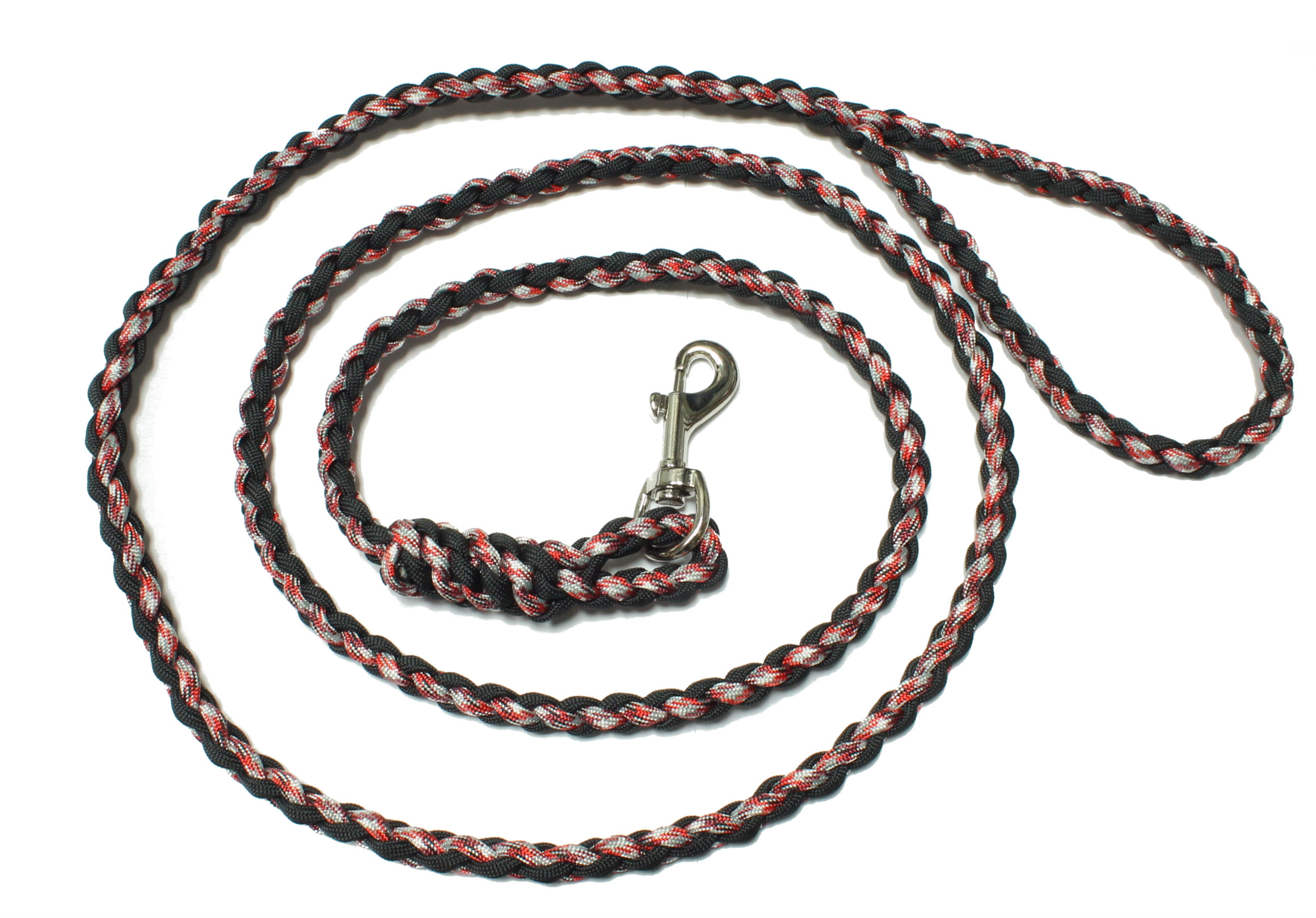 20 creative diy paracord dog leash patterns ideas for Paracord leash instructions