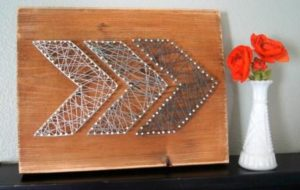 Arrow String Art