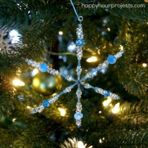 Beaded Snowflake Pattern Ideas