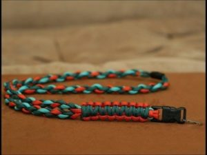 Braided Neck Paracord Lanyard