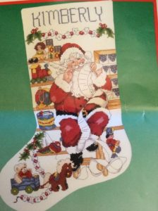 Buy Counted Cross Stitch Christmas Stocking Kits