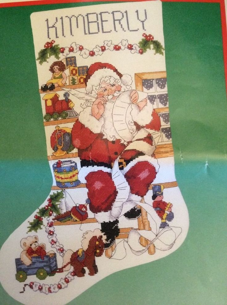 Buy Counted Cross Stitch Christmas Stocking Kits Ideas