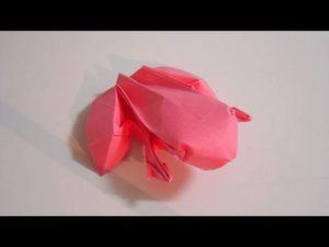Creative Origami Frogs for Advanced