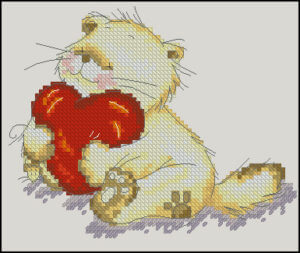 Cute Counted Cross Stitch Patterns Cats