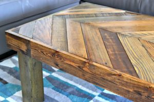 DIY Pallet Coffee Table Images