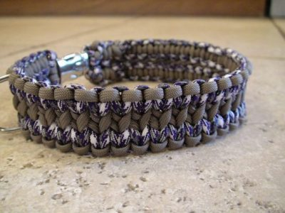 DIY Paracord Dog Collar Images
