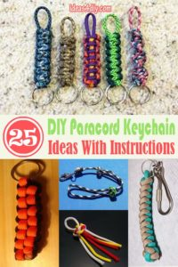 DIY Paracord Keychain Ideas