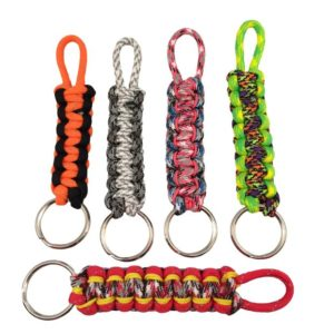 DIY Paracord Keychain Projects