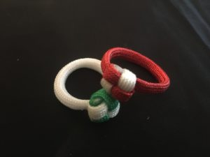 DIY Paracord Ring Instruction Images
