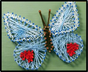 DIY String Art Instructions