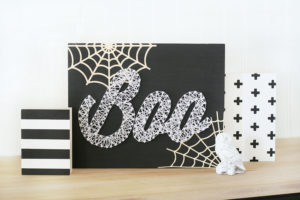 DIY String Art for Halloween