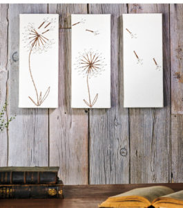 Dandelion String Art Instructions
