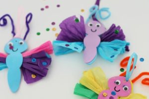 Decorative Tissue Paper Butterfly