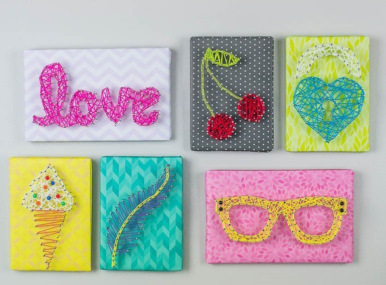 Easy DIY String Art for Kids