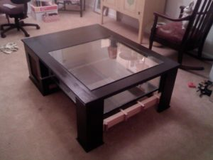 Fish Tank Coffee Table Instructions