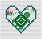 Free Counted Cross Stitch Baby Patterns