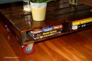 How to Make Pallet Coffee Table on Wheels