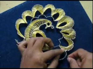 How to Make Peacock String Art
