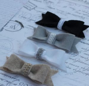 How to Make Vintage Hair Bows